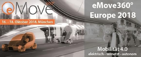 eMove360° Award 2018: Experten-Jury kürt Finalisten