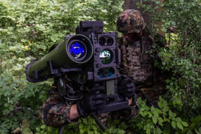 MELLS guided missile for the German Infantry: Bundeswehr awards Rheinmetall multi-million-euro contract