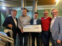 BüchnerBarella spendet 5.000 Euro an den Verein zur Förderung der mittelständischen Privatbrauereien e.V.