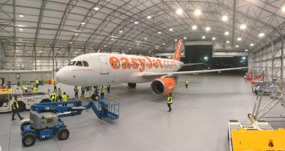 Partnerschaft mit easyJet am London Gatwick Airport