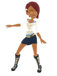 Boogie SuperStar sample character