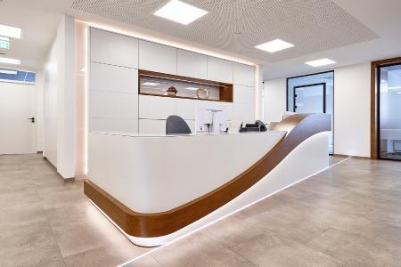 Karcher Design Referenz: Praxis Kieferothopädie Dr. med. dent. Djamaseb Fotograf: mayer GmbH