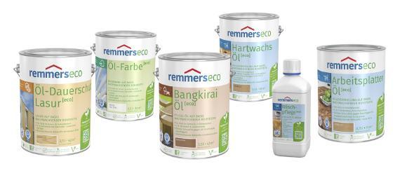 Die neuen ECO-Produkte von Remmers sind ab Januar 2018 verfügbar (Bildquelle: Remmers, Löningen)