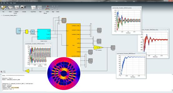 Flux 12.3 offers co-simulation with solidThinking Activate system simulator