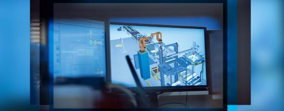 With the digital twin the mechanical components, electrical equipment and software programming must be able to access the exact same data.