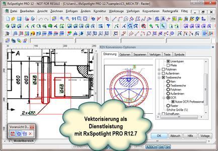 Vektorisierung als Dienstleistung mit RxSpotlight PRO 12.7