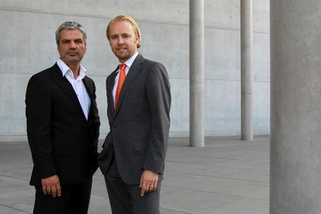 S.Thalhammer (li.) und A.Sorg