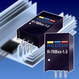 RECOM Develops Next Generation High Efficiency 1A and 1.5A Switching Regulators