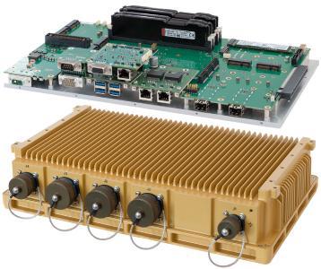 MXCS Robuste Lüfterlose Xeon Serverlösung