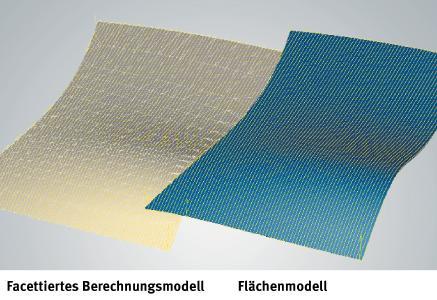 Neue Funktion im 3D-Form-Ebenenschlichten für spiegelglatte Oberflächen mit Toleranzen im µm-Bereich / Quelle: OPEN MIND