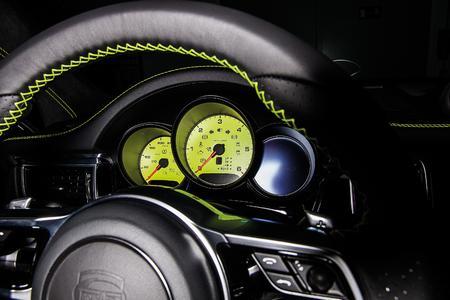 TECHART for Porsche Macan steering wheel