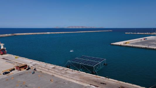SINN Power OHP in Heraklion, Greece with 75kWp (Photovoltaics)
