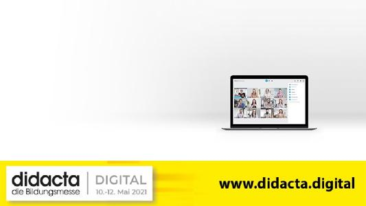 Die alfaview gmbh präsentiert ihre DSGVO-konforme Videokonferenzlösung auf der didacta © alfaview gmbh/ didacta