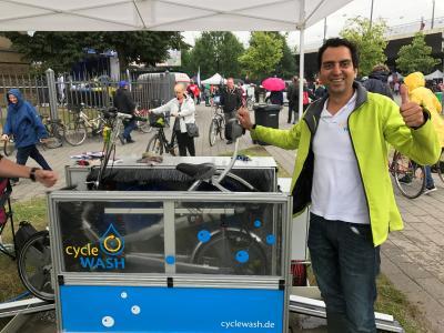 CycleWASH - gut für die Umwelt und Ihr Fahrrad
