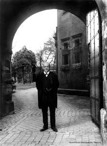 Umzug ins Grüne: Seine späteren Lebensjahre verbrachte August Thyssen auf Schloss Landsberg oberhalb von Essen-Kettwig. Die Fabrikanten-Villa ließ er aufwändig umgestalten