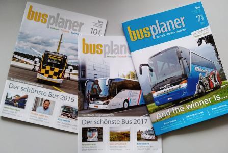 Titelbilder Schönster Bus