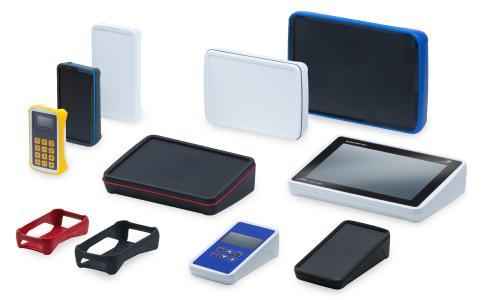 Die neue Baureihe der BoPad-Gehäuse wurde von BOPLA unter anderem für die Integration von Touchscreens und Displays optimiert