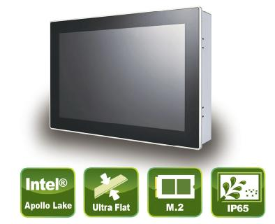 Kleiner kompakter Panel PC mit True-Flat PCAP Touch