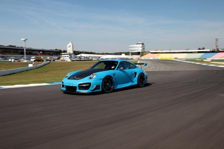 TECHART GTStreet R based on the Porsche 911 Turbo