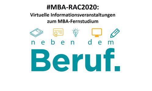 VirtuelleInfoveranstaltung MBA RAC2020