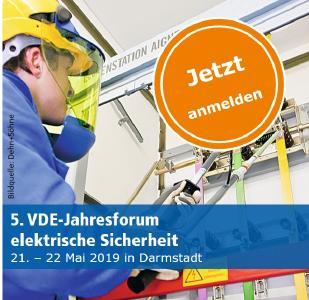 Jahresforum Elektrische Sicherheit