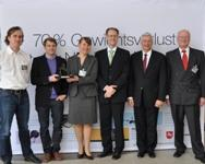 "Winner of the ""Composite Innovations Award 2010"": EADS GmbH"