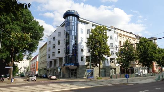 Das SelectLine Firmengebäude in Magdeburg