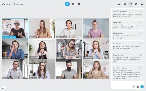 Videokonferenzlösungen wie alfaview® können zum Klimaschutz beitragen