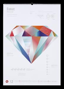 """Dezember: """"Diamant"""" – Scheufelen Kalender 2016 / Bildquelle Papierfabrik Scheufelen GmbH + Co. KG, Lenningen, Deutschland"""