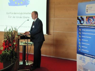 Einblicke in Europaeische Foerderprogramme/ Quelle: WFG Schwaebisch Hall