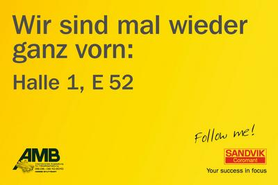 Aufmerksamkeitsstarke Plakate für das Stadtmarketing zur AMB 2010 in Stuttgart