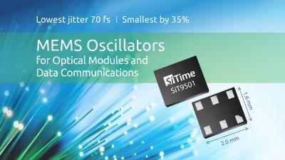 SiTime MEMS-Oszillatoren für Standard-Netzwerkfrequenzen bei Endrich Bauelemente Vertriebs GmbH erhältlich