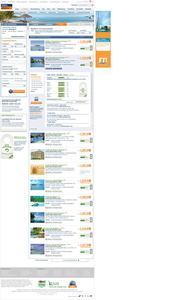 Screenshot der Website mit integriertem Reviews-Label