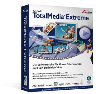 Die Software TotalMedia Extreme für 79,99 Euro ist die perfekte Kombination aus Player und Bearbeitungsprogramm.