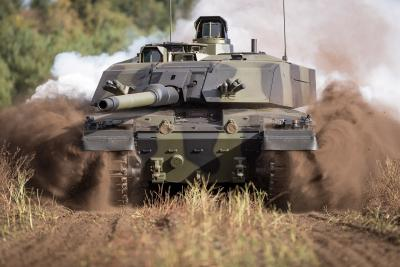 Major order from Her Majesty's Armed Forces: Rheinmetall modernizing the UK's main battle tank Challenger 2 fleet - order volume is around €770 million