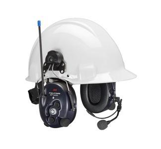 3M Peltor LiteCom Gehörschutz mit Helm. Foto 3M Deutschland