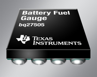 TI introduces smallest Impedance Track(TM)  battery fuel gauge for handheld electronics