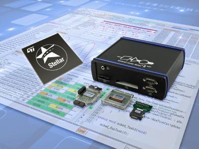 PLS' UDE unterstützt die Stellar SR6 P- und SR6 G-MCUs von ST mit vollumfänglichen Multicore-Debug und -Trace-Funktionen
