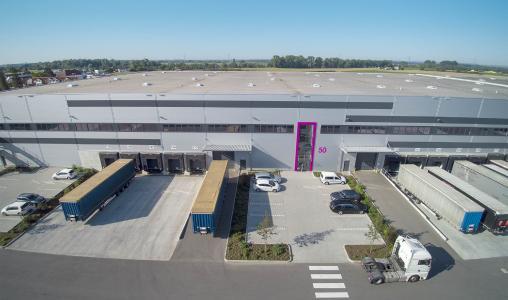 Neues Pharma-Distributionszentrum und Luftfracht-Hub in Groß-Gerau, Bildquelle: ©FourParx