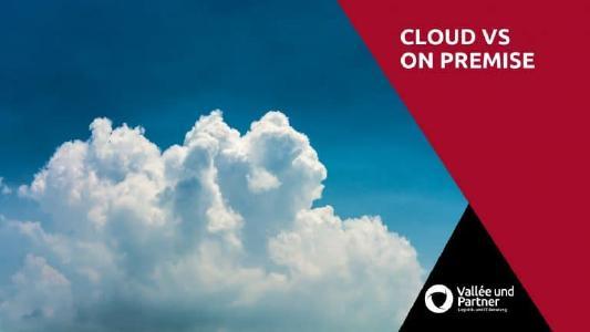 On Premise oder Cloud Software für's Unternehmen?
