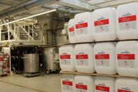 Remmers hat kurzfristig die Produktion auf Desinfektionsmittel umgestellt. Bildquelle: Remmers, Löningen