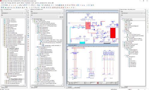 Von der Vorplanung über die Detailplanung im Schaltplan bis hin zum R&I-Fließbild lassen sich mit Eplan Preplanning Version 2.7 Rohrleitungen komfortabel planen / Quelle: Eplan Software & Service GmbH & Co. KG