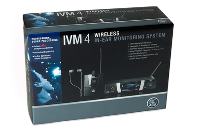 Preissenkung AKG IVM 4 In-Ear-Monitoring System