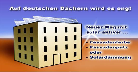 Auf deutschen Dächern wird es eng!