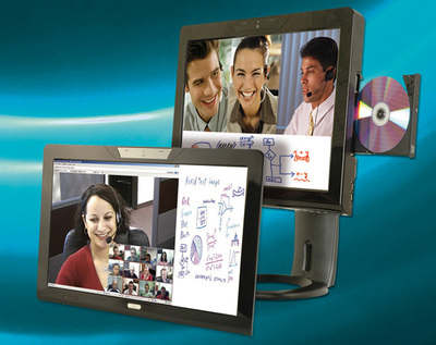 All-in-one Panel-PC mit Wide Screen LCD