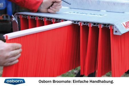 Osborn Broomate: Einfache Handhabung beim Bürstentausch.