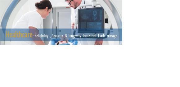 Gesundheitswesen - Zuverlässigkeit, Sicherheit und Langlebigkeit Industrieller Flash-Speicher