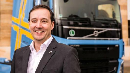 Director New Vehicle Sales Volvo Trucks, Emanuel Lauf