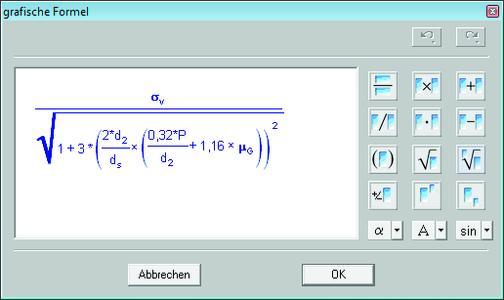 Die Eingabe von mathematischen Formeln erfolgt direkt im Textprogramm. Die Software interpretiert und berechnet diese intuitiv und vollautomatisch.