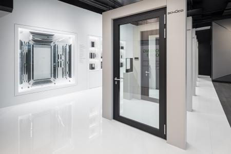 Schüco Showroom in Frankfurt am Main